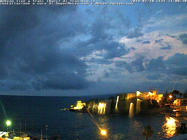 Ultima Immagine webcam da Trani