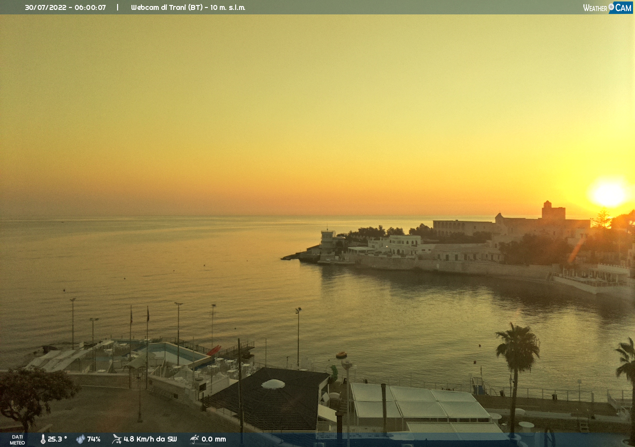 Webcam a Trani (BT)